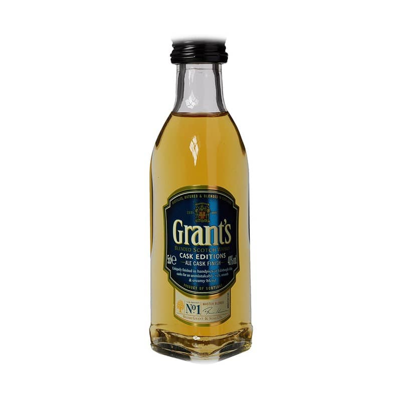 GRANTS ALE CASK 50ML MINIATURA