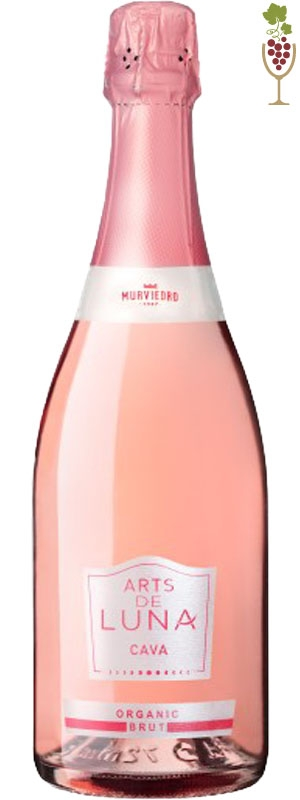 CAVA LUNA ROSE ORGANICO 750ML