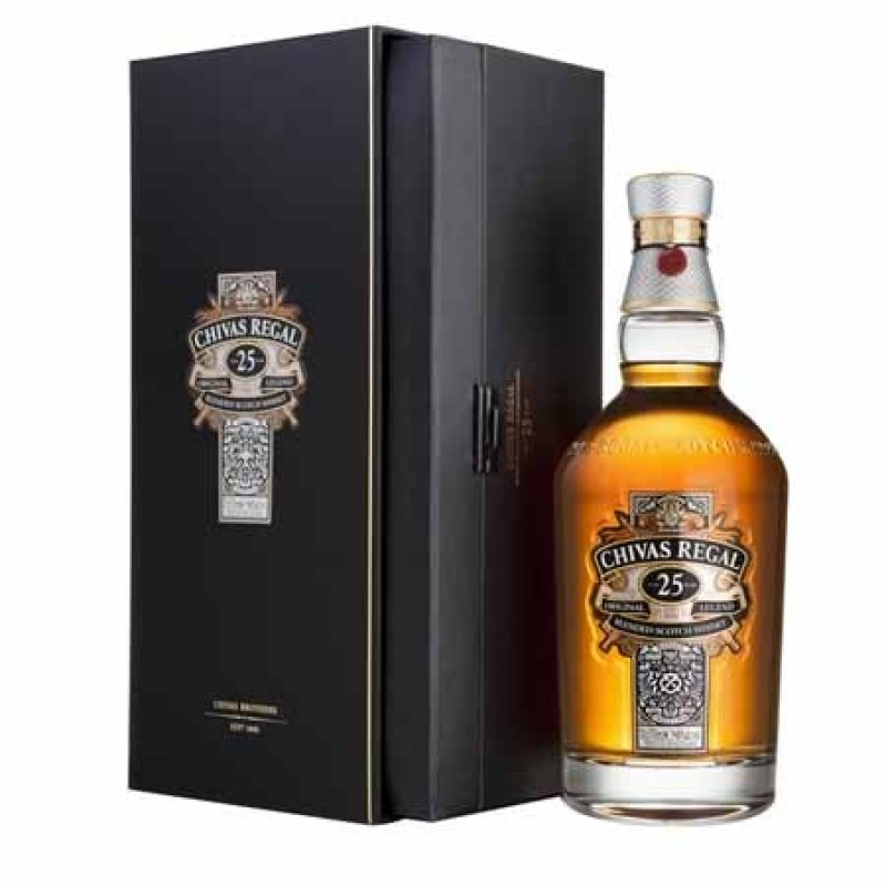 CHIVAS REGAL 25 ANOS 750ML